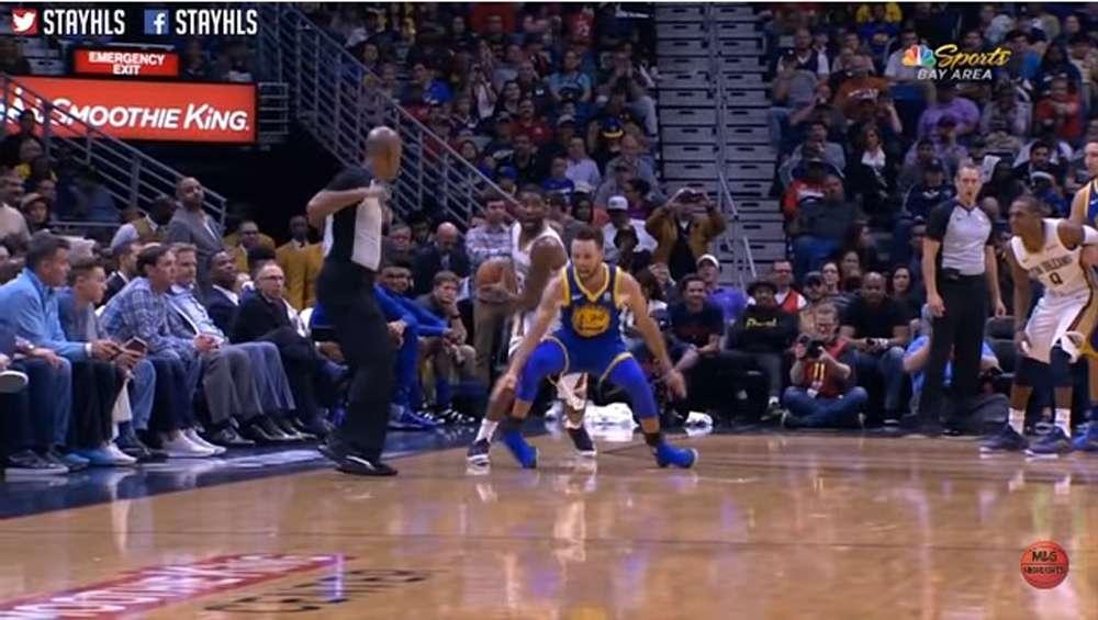 Video: Aterradora torcedura de tobillo de Stephen Curry en la NBA