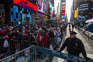 Seguridad 'sin precedentes' en Times Square para fiesta de Año Nuevo