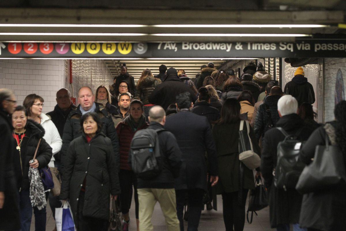 En el subterráneo se nota especialmente el incremento poblacional