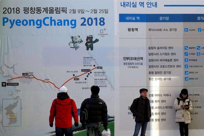 Las dos Coreas marcharán unidas en apertura de los Olímpicos de Invierno
