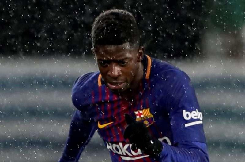 Dembelé, la mala inversión del Barcelona se vuelve a lesionar