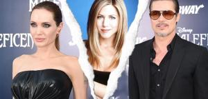 El esperado cara a cara de Jennifer Aniston y Angelina Jolie, las ex de Brad Pitt