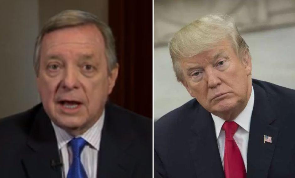 Trump arremete contra quien reveló su comentario racista hacia inmigrantes