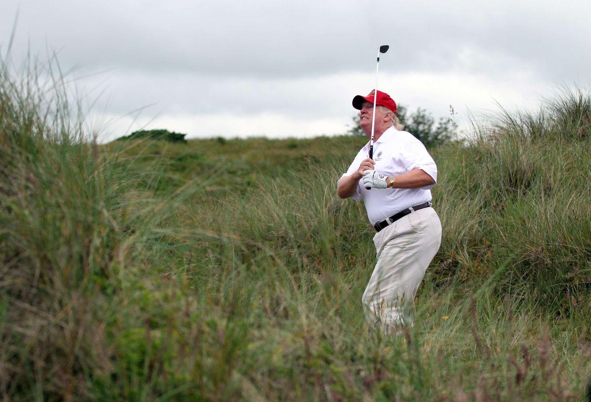 Golfista amiga de Trump confirma trampas del presidente en los campos