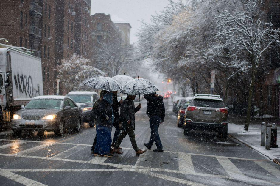 Alerta de nieve, pero sobre todo mucho frío en Nueva York, Nueva Jersey y otros 18 estados