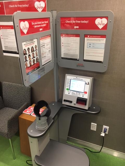Instalarán kioscos para medirse la presión sanguínea en NYC