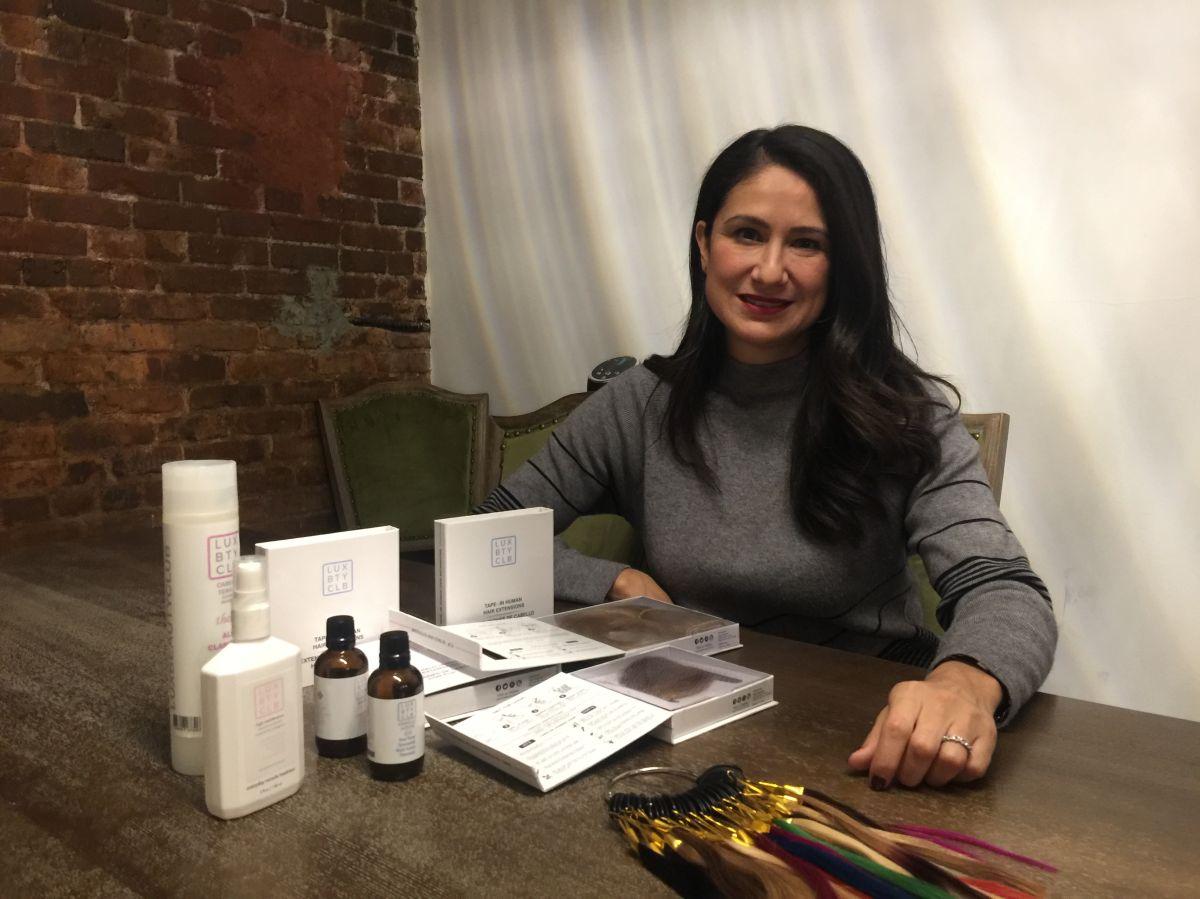 Victoria Flores, cofundadora de Lux Beauty Club./A.B.N.