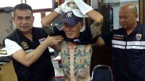 Sus tatuajes se hacen virales en Facebook y lo detienen