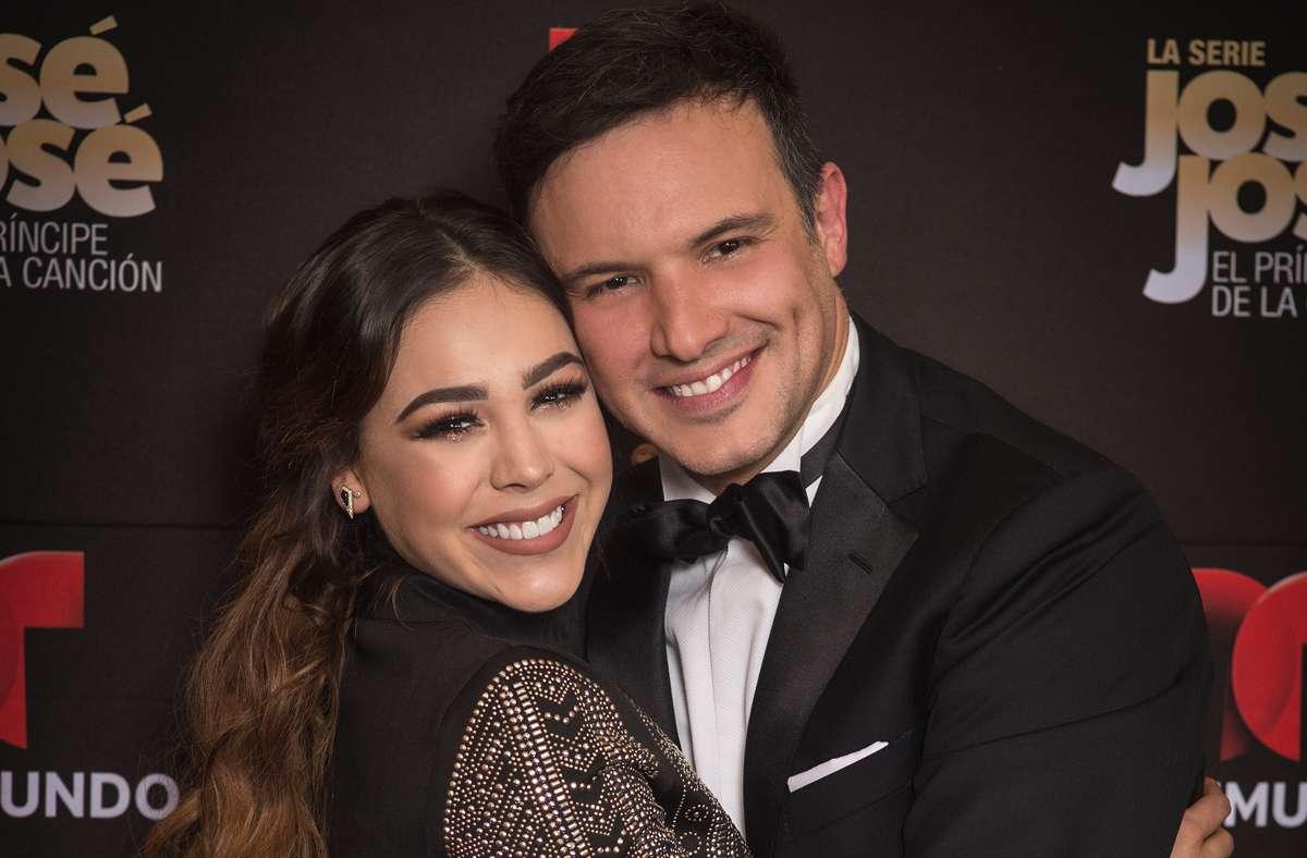 Danna Paola y Alejandro de la Madrid participan en la serie de José José