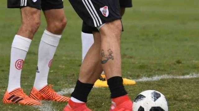El Curioso Tatuaje De Lucas Pratto Lleva A Los Simpsons En La Piel El Diario Ny