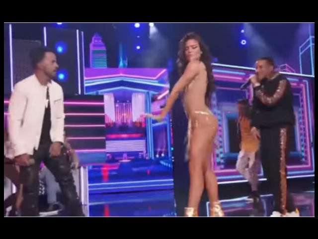 VIDEO: Luis Fonsi, Daddy Yankee y Zuleyka, ponen sabor a los Grammys con 'Despacito'