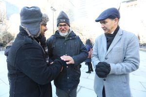 """Gritan en NYC: """"Que Ravi Ragbir se quede en este país"""""""