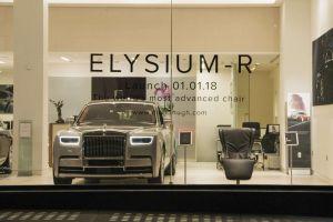 A la venta una silla increíble en concesionario de Rolls-Royce