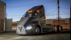 Thor, el tractor eléctrico que en 2018 dará pelea al Semi de Tesla