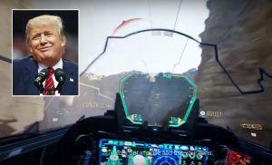 """Trump """"vendió"""" aviones que sólo existen en el videojuego """"Call of Duty"""""""