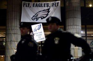 Philadelphia amanece con destrozos por las celebraciones del Super Bowl