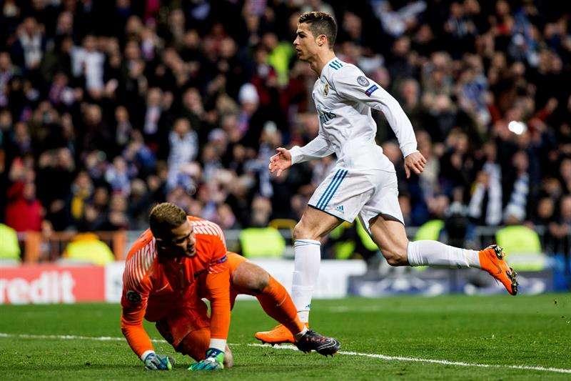 Cristiano Ronaldo saca de apuros al Real Madrid contra el PSG