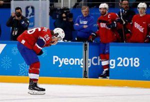 VIDEO: Terrorífica lesión en el hockey sobre hielo de Pyeongchang