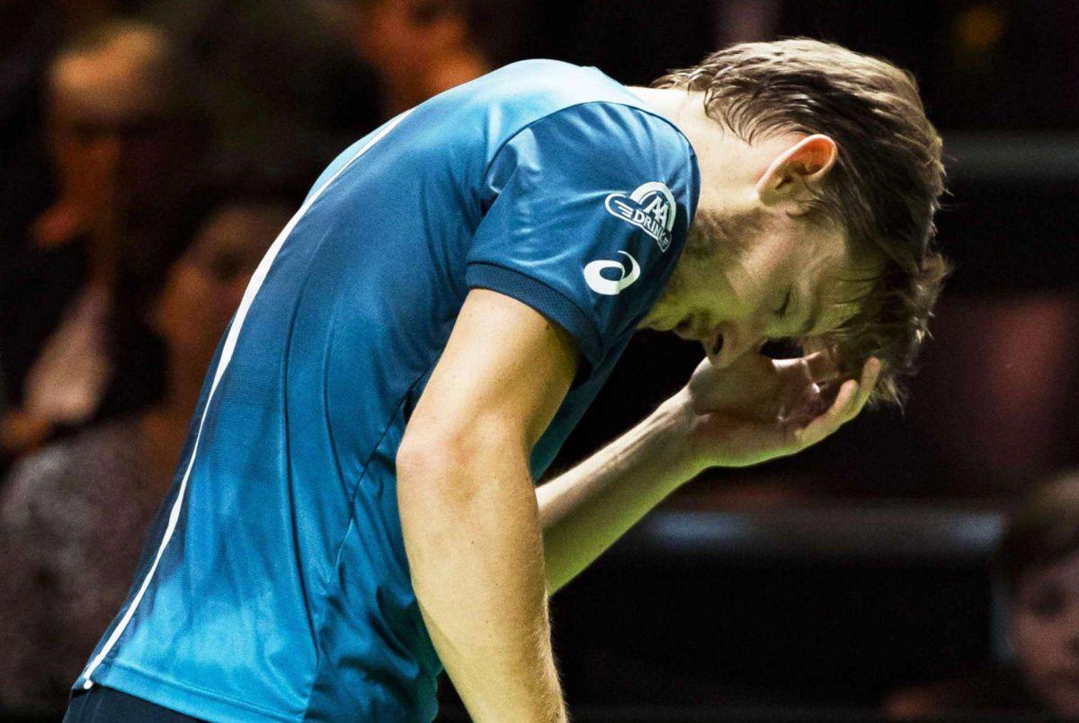VIDEO: Tenista se lleva golpazo en el rostro y abandona el ATP de Rotterdam