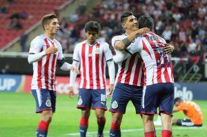Chivas golea al Cibao dominicano y ya está en cuartos de la Concachampions