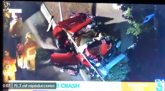 VÍDEO: Fatal accidente en California involucra al actor Luke Wilson y al golfista Bill Haas