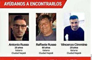 México: 'Venden' a los tres italianos por $53 dólares