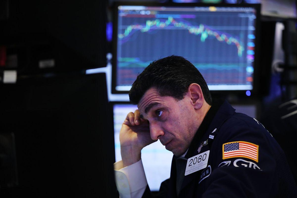 Desplome en los mercados de valores