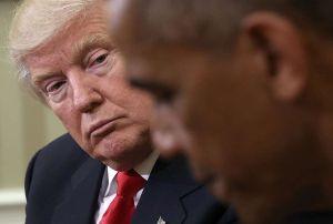 Trump y su rencor político contra Obama le pasa factura a EEUU