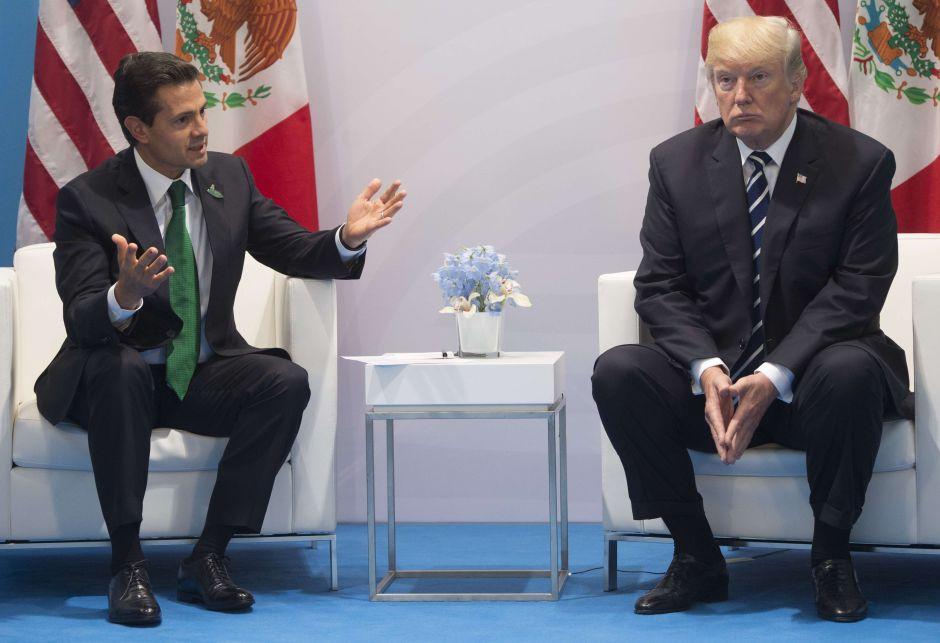 """Trump a Peña Nieto: """"¿Estás loco?"""" y México responde"""