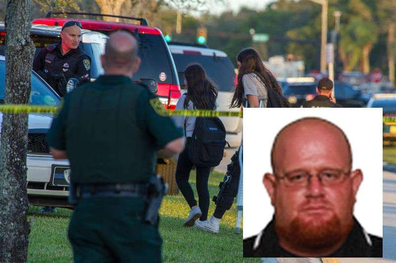 Entrenador de fútbol americano se interpuso entre pistolero y estudiantes en Florida