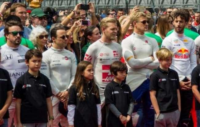 De bellas edecanes a niños, los nuevos rostros de la Fórmula 1