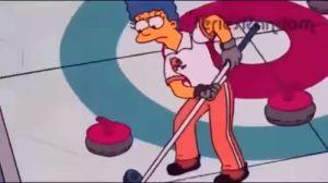 VIDEO: EEUU ganó oro en curling y los Simpson lo predijeron