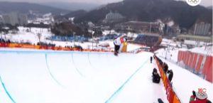 VIDEO: Otro espeluznante accidente en Pyeongchang, ahora en snowboard