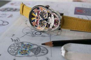 Cómo México inspiró a Fiona Krüger a fabricar relojes de lujo con forma de calavera