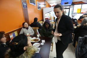 """Tres colombianas """"berracas"""" en la lucha por llegar a Albany"""