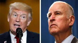 Donald Trump critica al gobernador de California por indultar a cinco inmigrantes