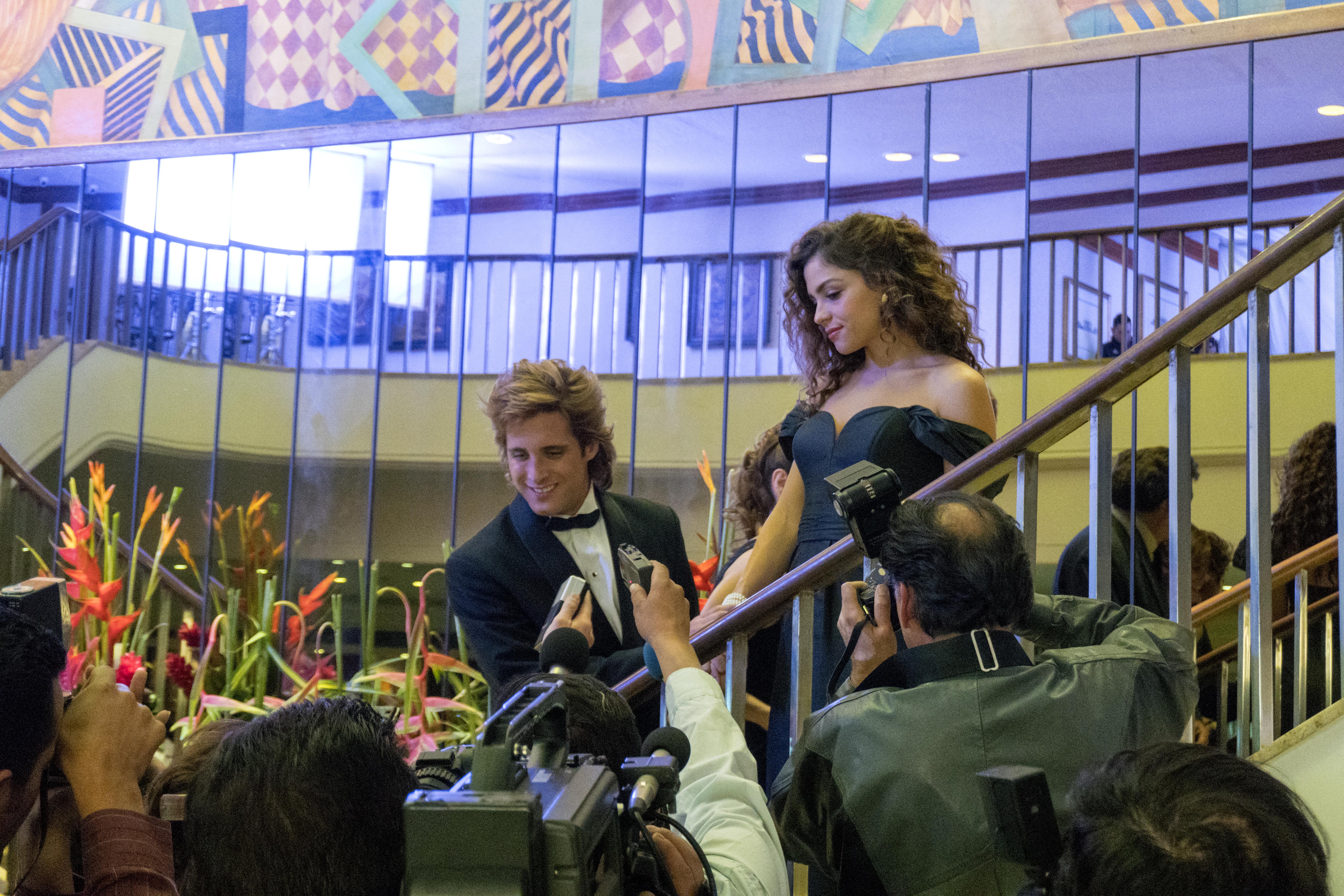 Paulina Dávila interpreta a la primera novia de Luis Miguel.