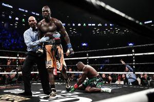 """VIDEO: Cubano """"King Kong"""" Ortiz perdona a Deontay Wilder y cae por nocaut"""