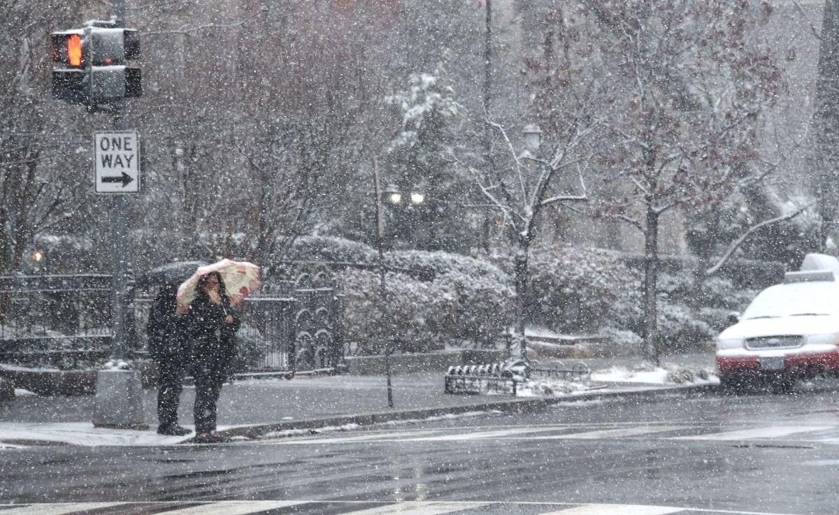 Las calles de Washington D.C. lucen casi vacías. RIC BARADAT/AFP/Getty Images