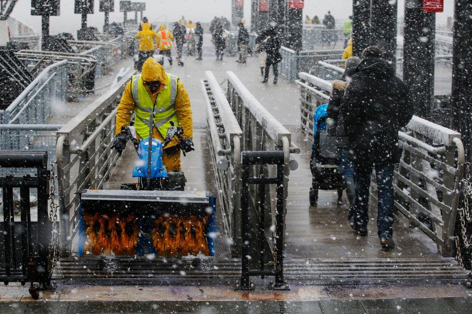 Cuarto nor'easter para Nueva Jersey más leve de lo previsto