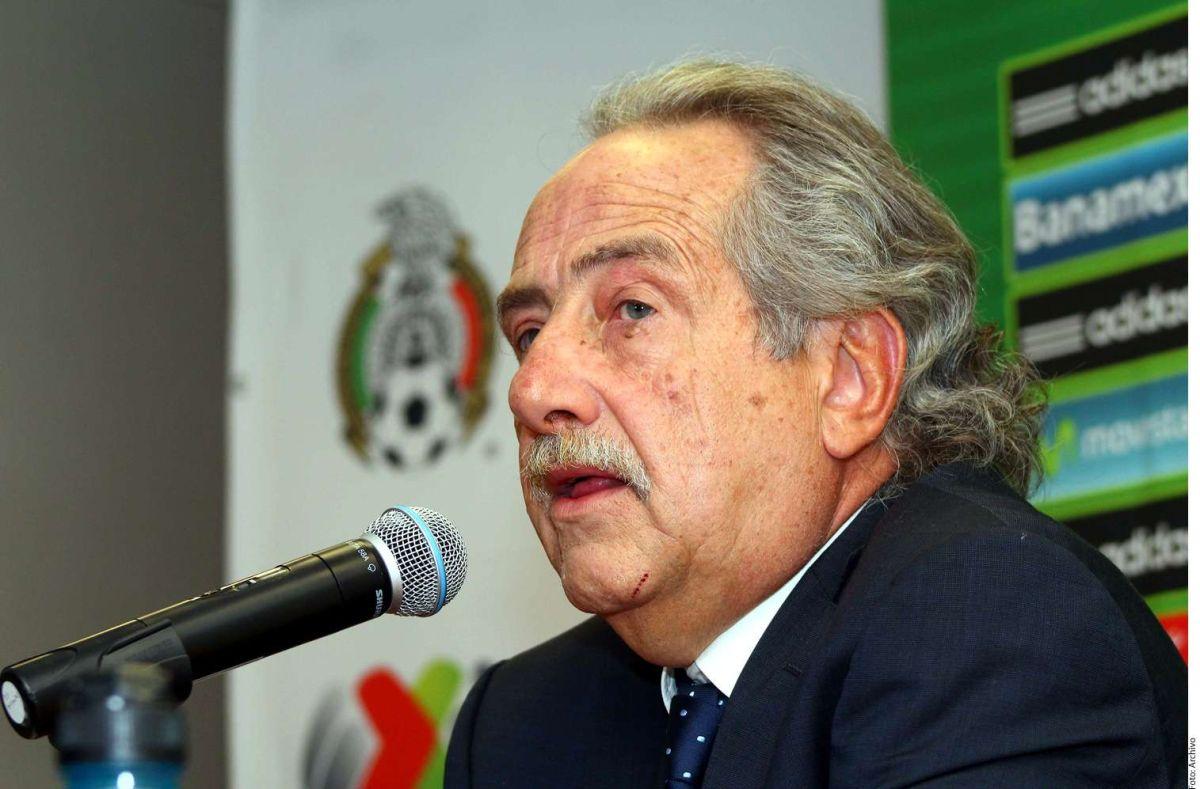 Decio de María renunció a la Federación Mexicana de Fútbol