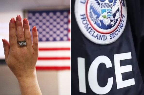 """Pareja acudió a USCIS a entrevista por """"green card"""" y él fue arrestado por ICE"""