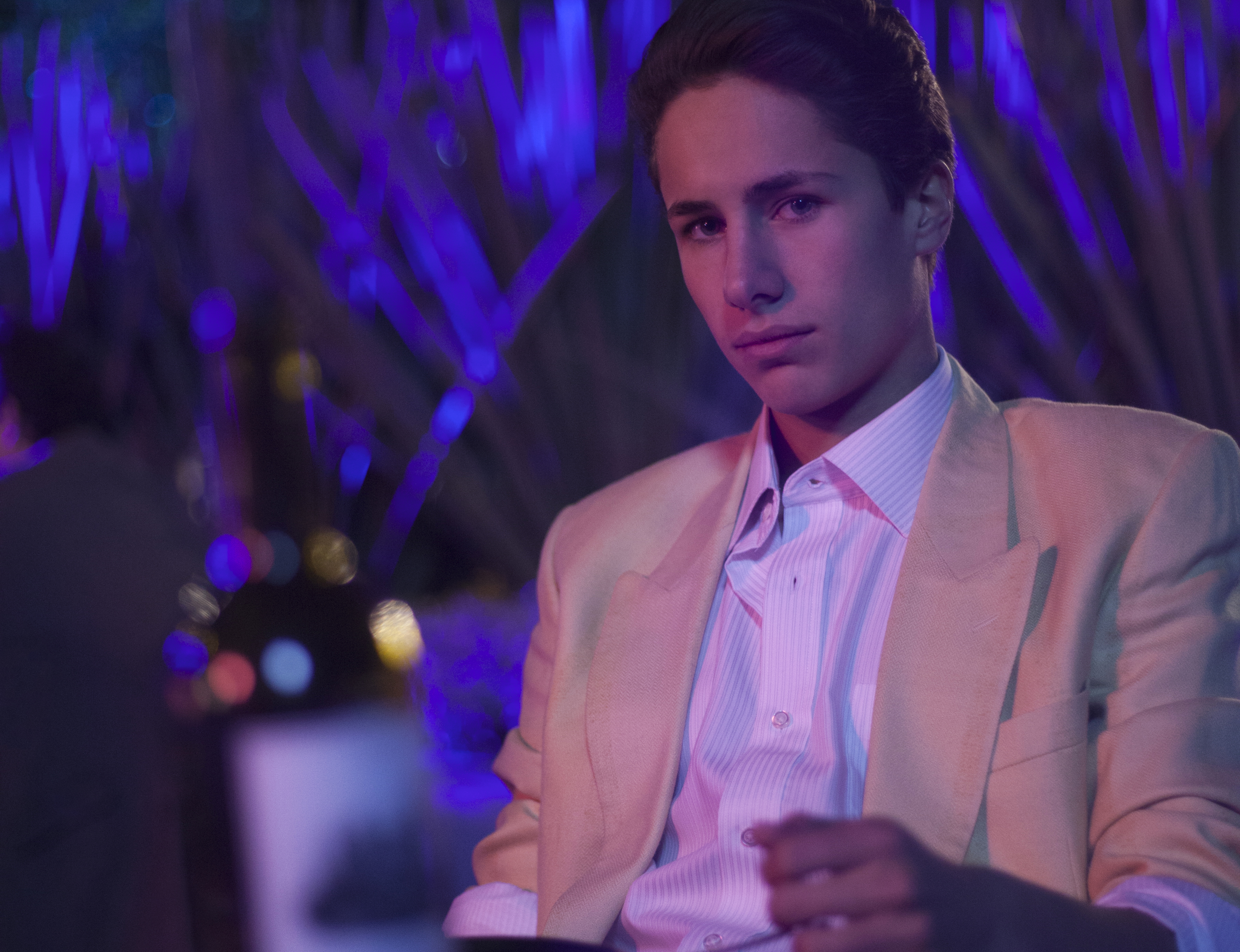 Juanpa Zurita es Alex, hermano de Luis Miguel.