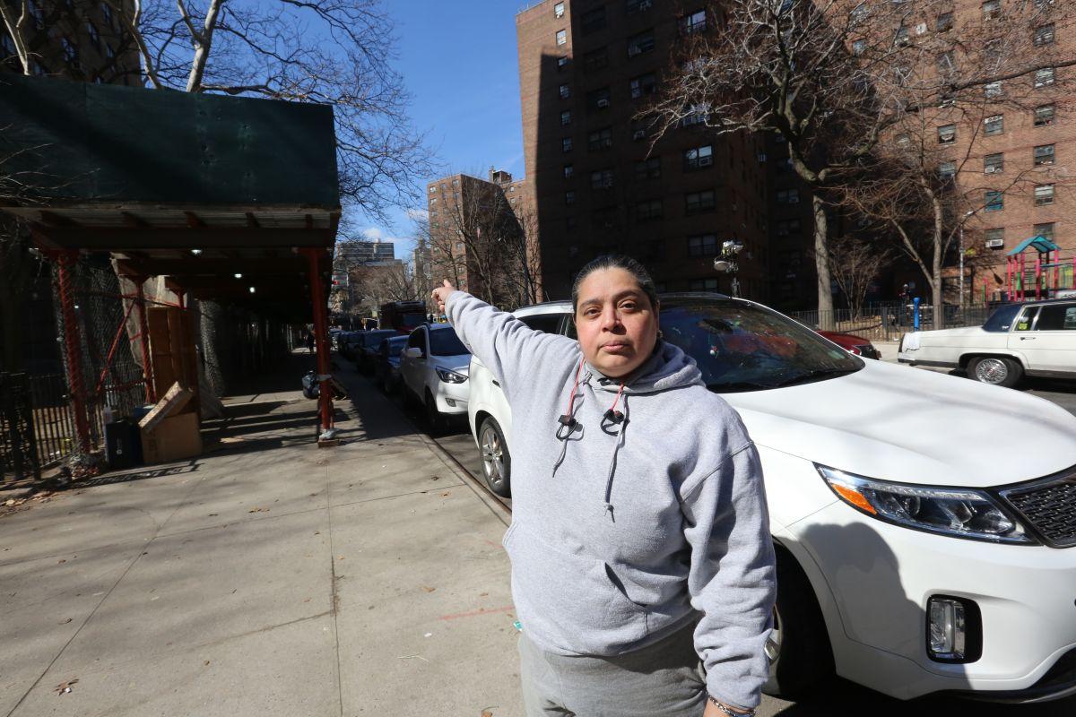 Denuncian que andamios en edificios de NYCHA son nido de delincuentes