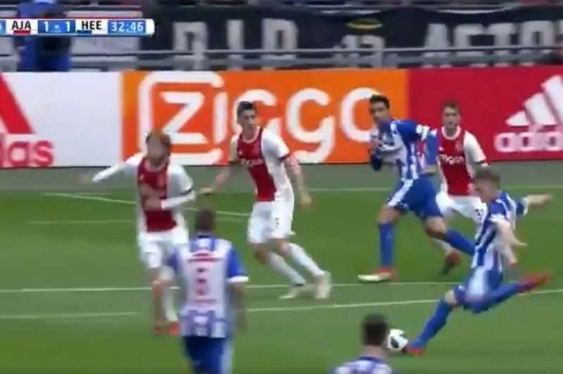 Ödegaard, la joya cedida por el Madrid también marcó un golazo en Holanda