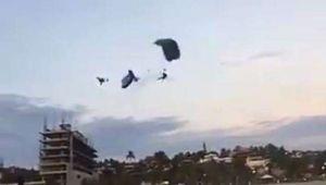 Muere paracaidista luego de chocar con otro