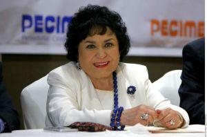 """Carmen Salinas se arrepiente de haber entrado a la política: """"Yo hice muchas cosas de mi bolsillo"""""""