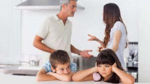 Peleas de padres frente a los hijos daña la salud de los niños