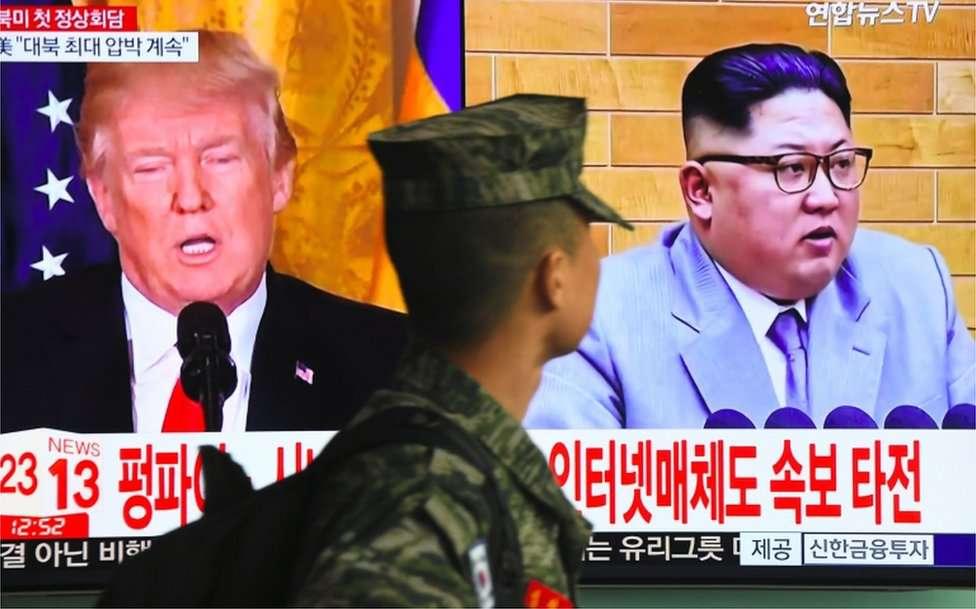 Trump cancela reunión con Kim Jong-un