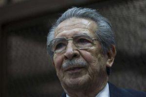 Muere Efraín Ríos Montt, exmandatario de facto de Guatemala juzgado por genocidio